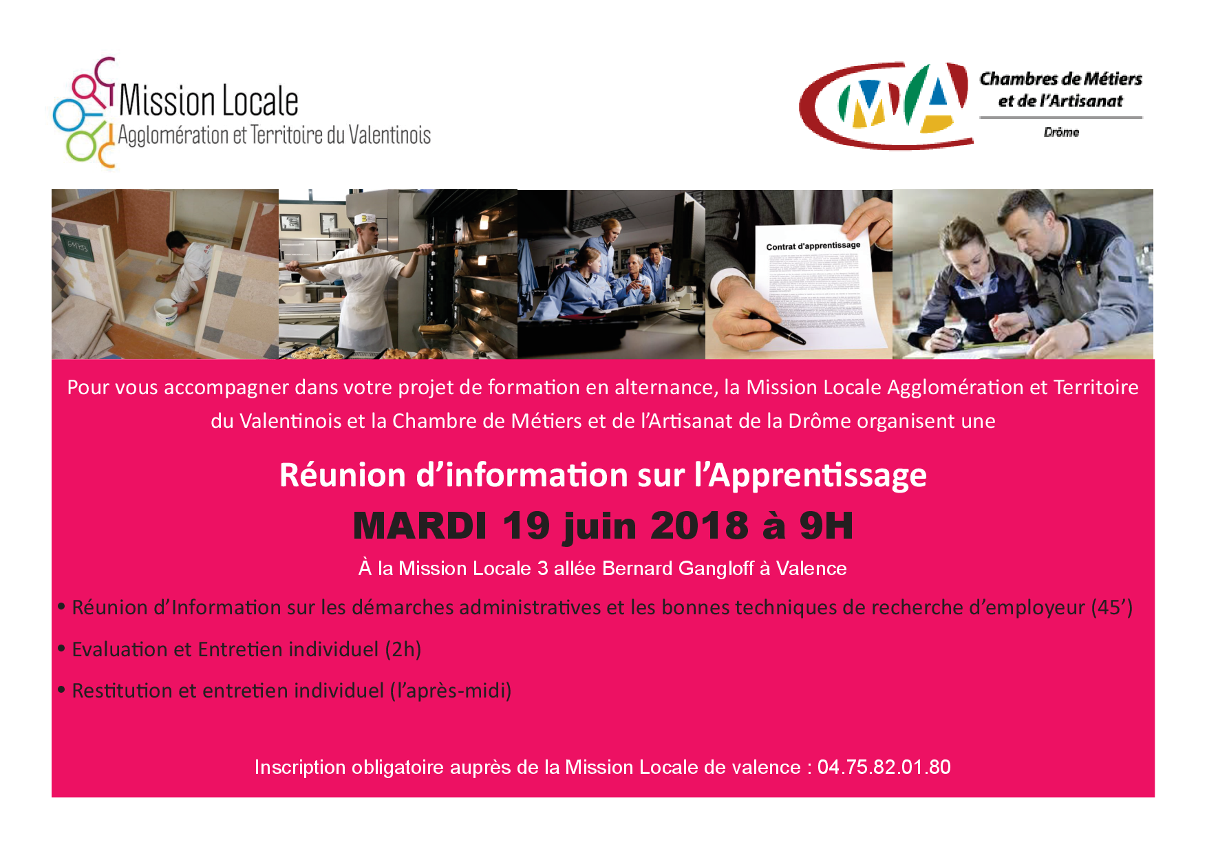 Info collective Apprentissage